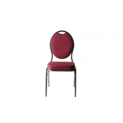 Stackchair, wijnrood